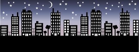 city skyline Stock Vector - 8517687
