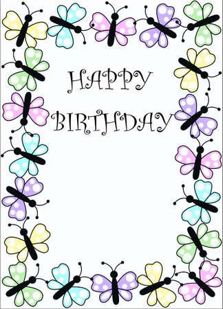 happy birthday Stock Vector - 8630568