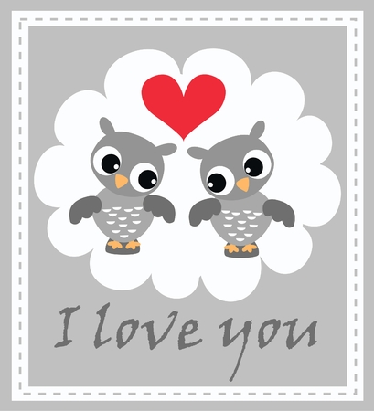 I love you  Stock Vector - 8560090