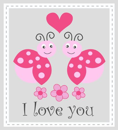 you are special: I love you  Illustration