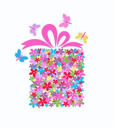 flower box Stock Vector - 8560091