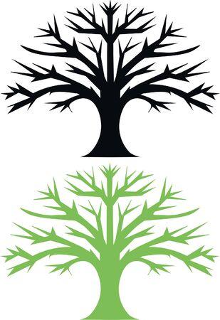 oak tree Stock Vector - 8714623