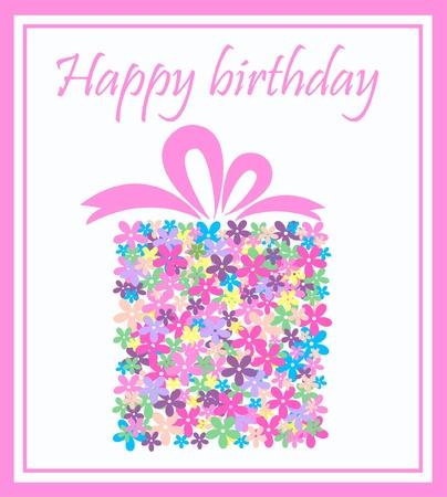 happy birthday Stock Vector - 8583208