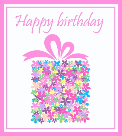 birthday flowers: Proficiat met je verjaardag