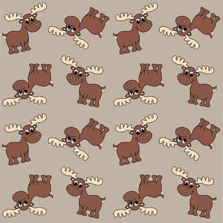 wrapping animal: seamless pattern