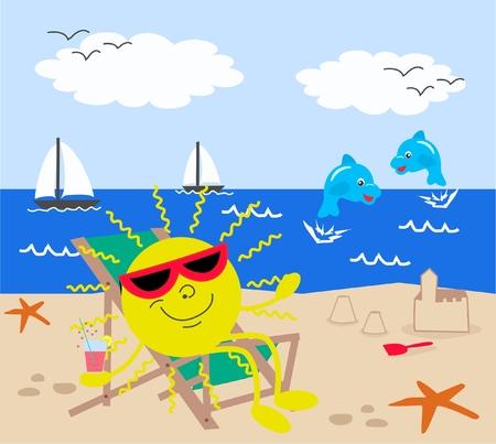 summer holiday Stock Vector - 8809234