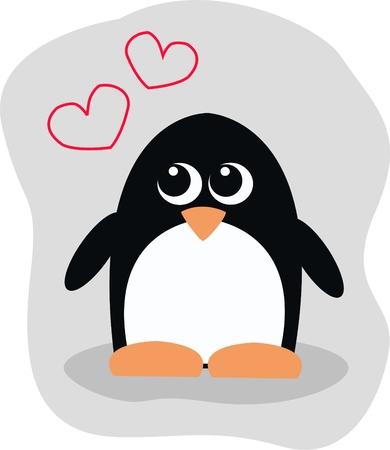 ornage: a cute little penguin