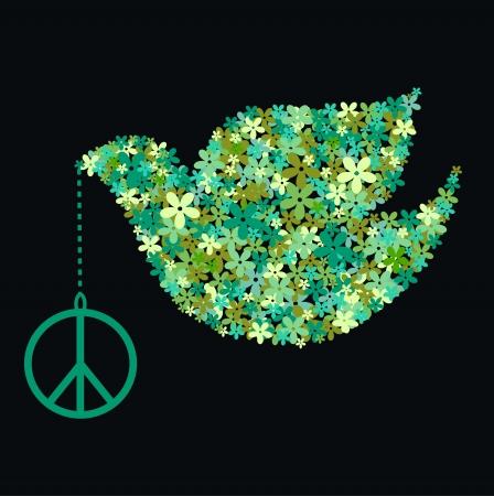 palomas volando: Paloma de la paz