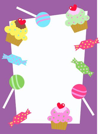 celebration or invitaion card Vector