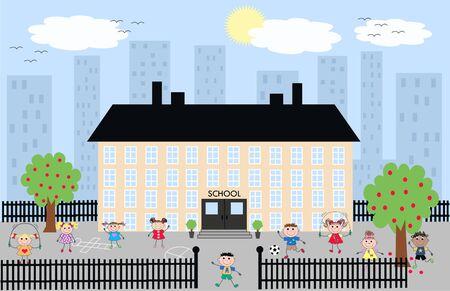 patio escuela: Escuela
