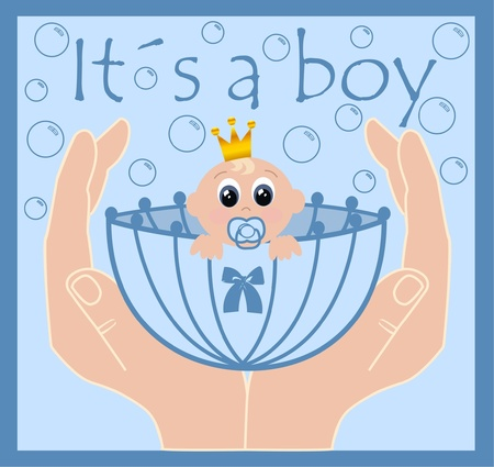 it´s a boy Stock Vector - 9247754