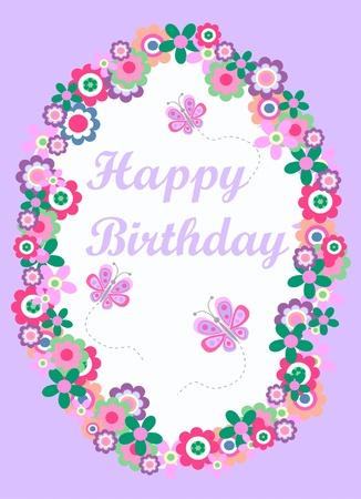 happy birthday Stock Vector - 9436360
