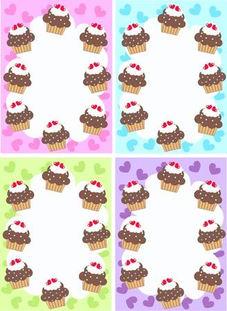 cupcakes Stock Vector - 9436361
