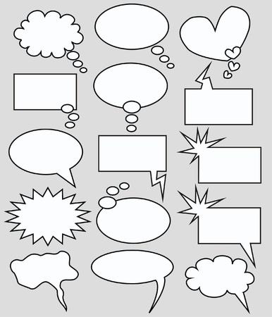burbujas de pensamiento: burbujas de pensamiento y de expresi�n