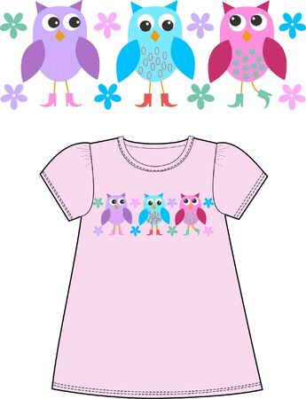 pattern for childrens clothes Stock Vector - 9718638