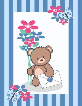 celebration or invitation card Stock Vector - 9722338