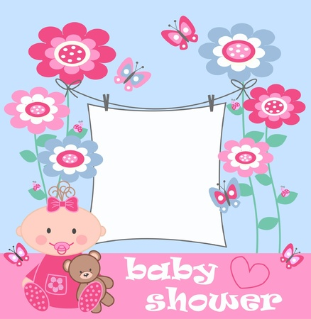 baby shower Stock Vector - 9764687