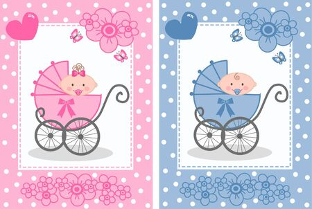 newborn baby Illustration