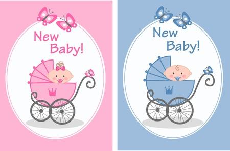 newborn baby Vector