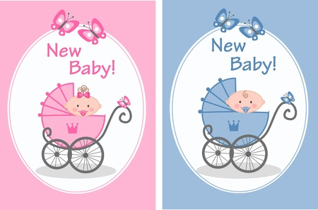 carriers: newborn baby Illustration
