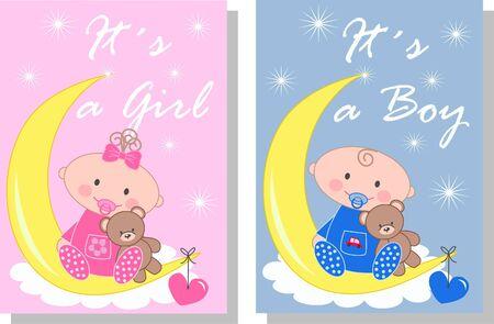 celebartion: newborn baby Illustration