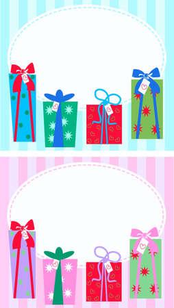 file box: celebration or invitation Illustration