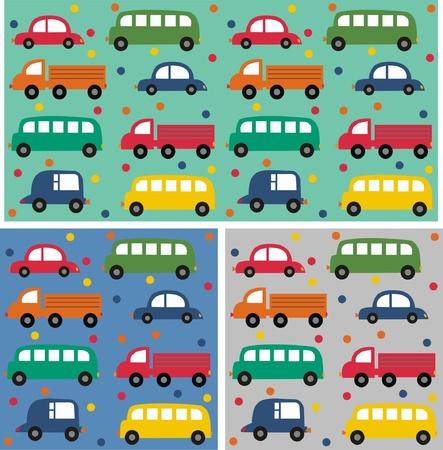 автомобили: бесшовные модели автомобиля