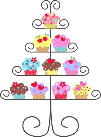cupcakes Illustration