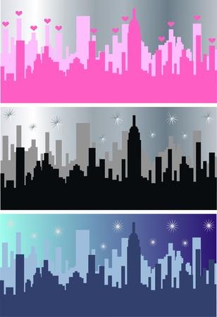 city skyline Stock Vector - 10255432