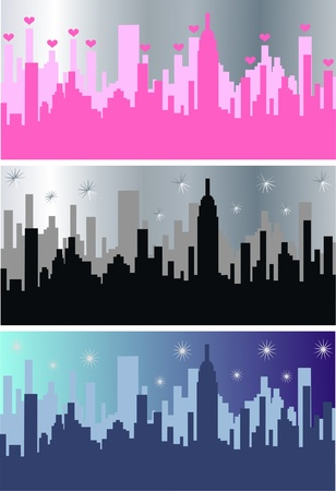 new york skyline: city skyline