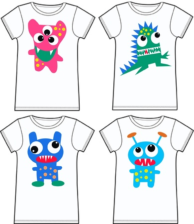 funny t-shirts Vector