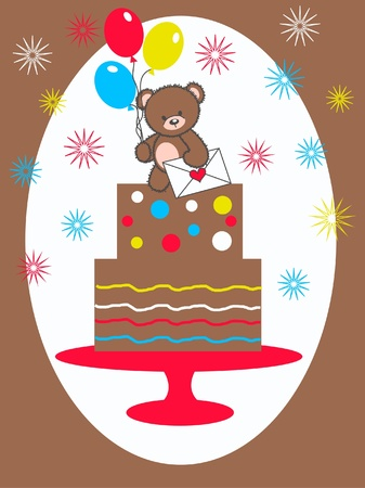 happy birthday Stock Vector - 10622126
