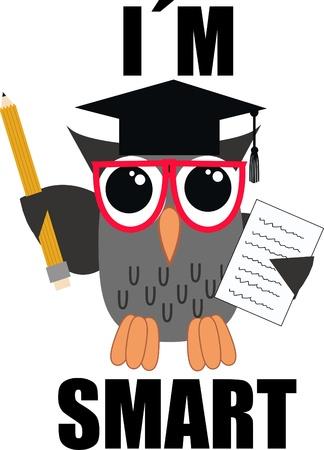 isolated owl: un b�ho inteligente
