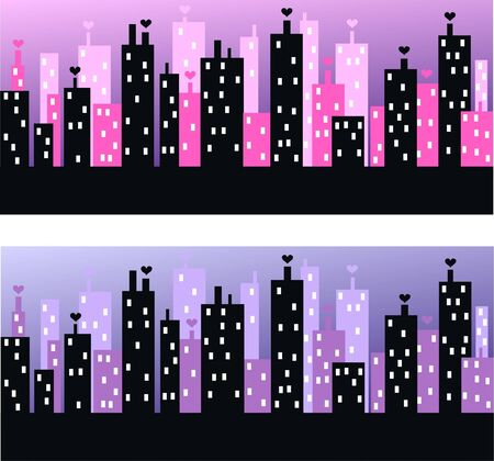 city skyline Stock Vector - 10664368