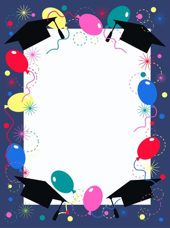a graduate: graduation invitation or celebration
