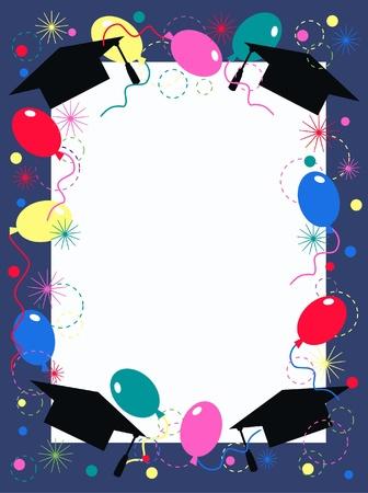 invitación de graduación o fiesta