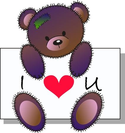 caricaturas de animales: Te quiero