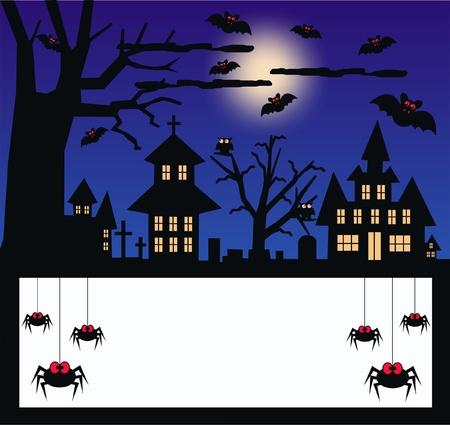halloween invitation: halloween Illustration