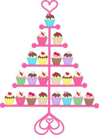 cupcakes Illustration