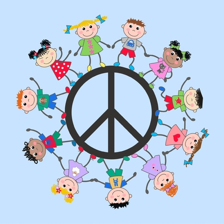 cultural diversity: varios ni�os culturales