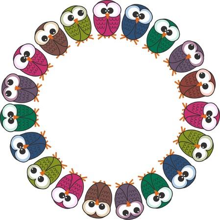 owls Stock Vector - 10990472