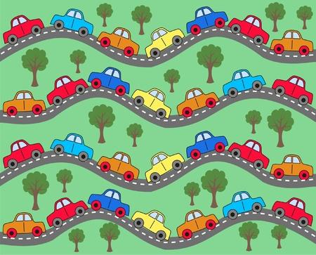 Auto Hintergrund