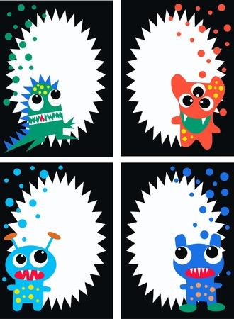 monsters: celebration or invitation Illustration