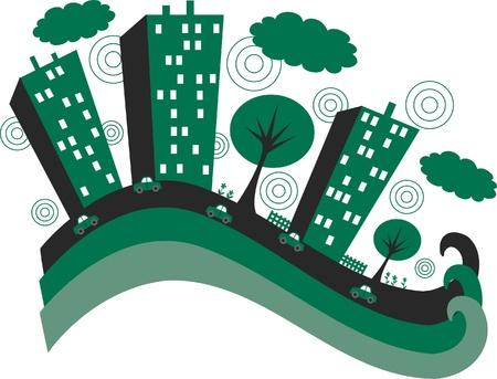 green city banner header