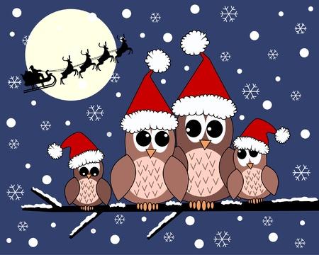 birdie: Buon Natale Vettoriali