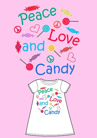 pattern for childrens wear Vector