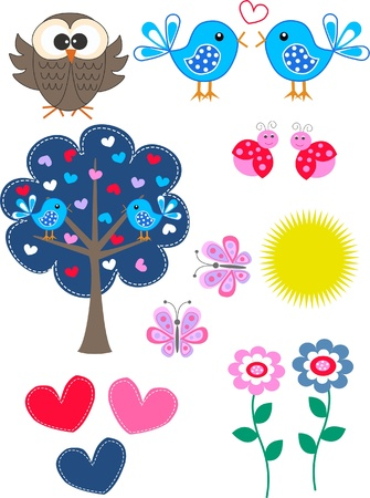 different design elelemnts Vector