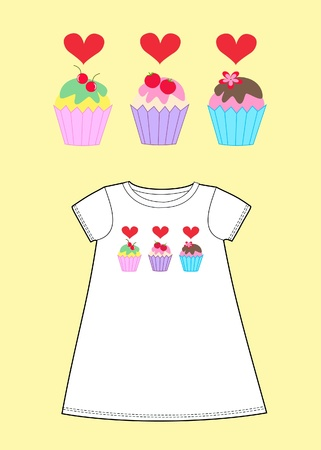 royalty free: pattern for childrens wear