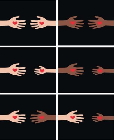 diversidad cultural: ayudando a las manos