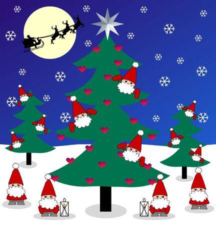 royalty free: Buon Natale Vettoriali